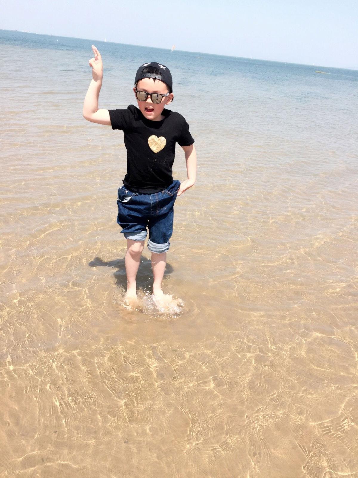 蓬莱长岛带娃四日游|海鸥/海滩/日落