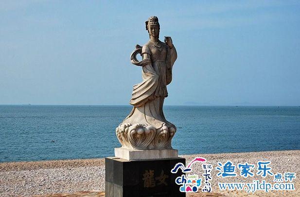 到山东长岛半月湾享受舒畅平和的心情